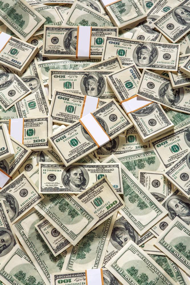 Money background vertical