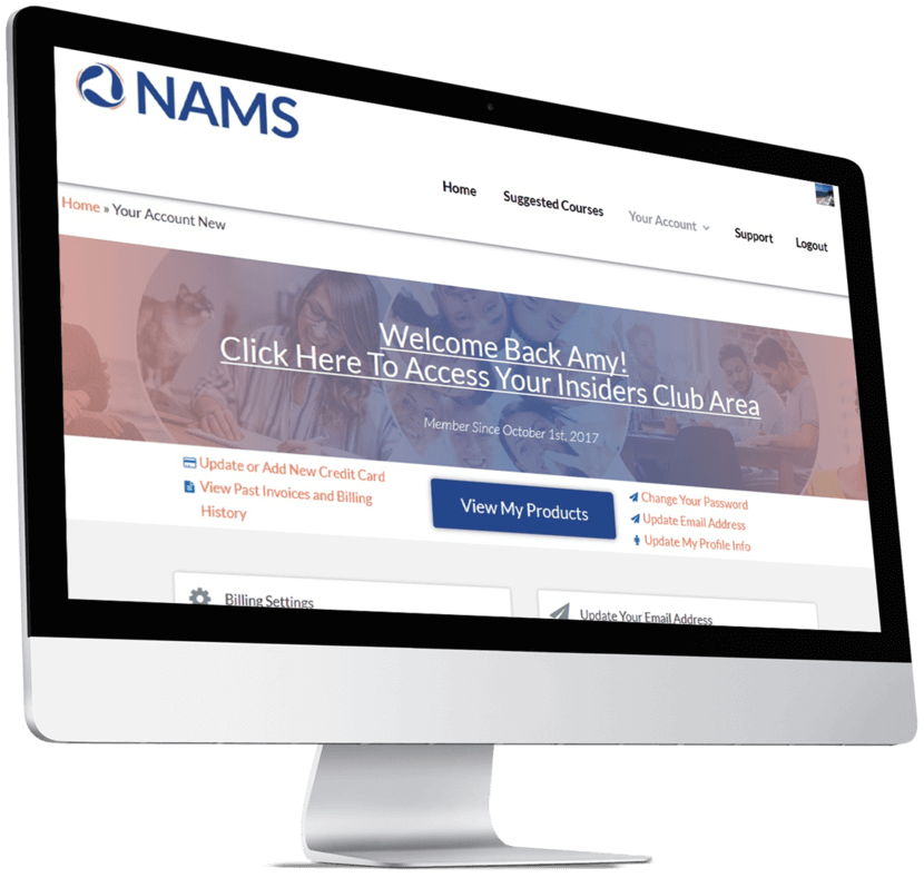 NAMS Learning Center